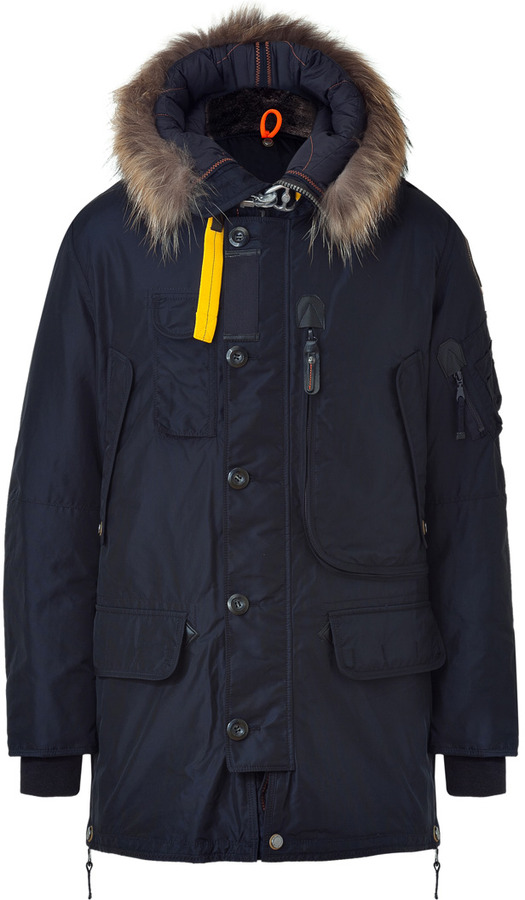Men's Fashion › Jackets › Parkas › Navy Parkas Parajumpers Kodiak Down Parka In Navy ...