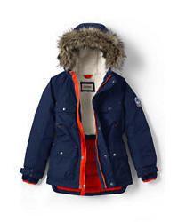 Lands' End Little Boys Expedition Parka Emerald Gulf