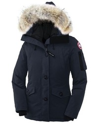 Montebello slim fit down parka with genuine coyote fur trim medium 375552