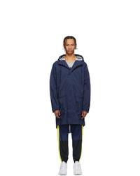 Nike Navy Nrg Parka Coat
