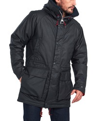 Barbour North Sea Waxed Cotton Parka