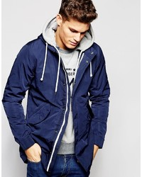 Tommy Hilfiger Parka In Navy