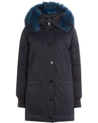 Kenzo Parka With Raccoon Fur Hood