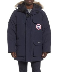 Canada Goose Pbi Expedition Regular Fit Down Parka With Genuine Coyote