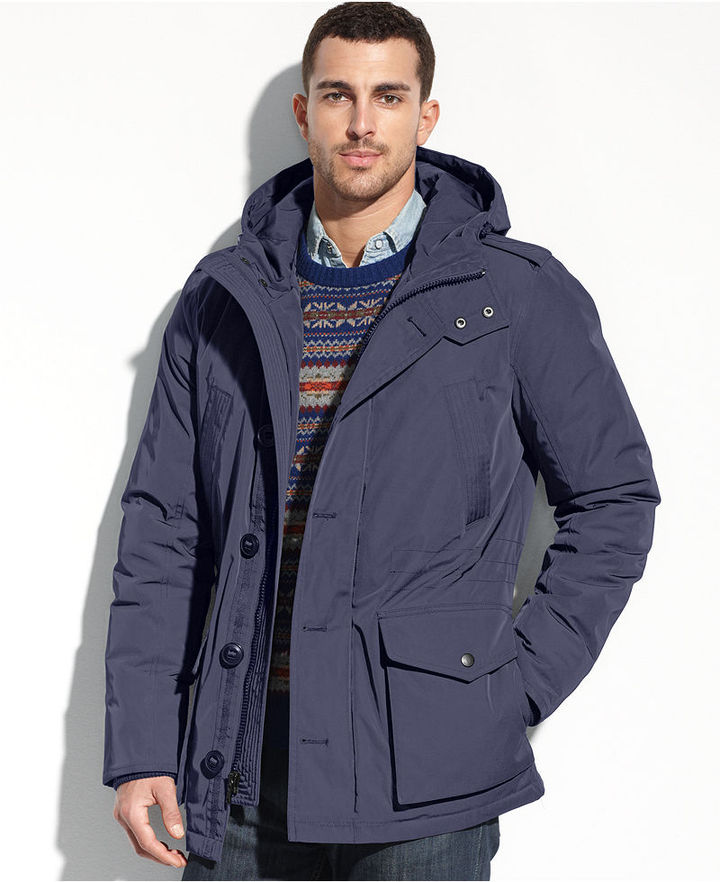 Tommy Hilfiger Coat Hooded Parka Coat | Where to buy & how to wear