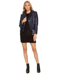 BB Dakota Maria Patchwork Moto Jacket Coat