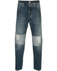 Golden Goose Patchwork Tapered Jeans