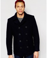 Original Penguin 80% Wool Peacoat