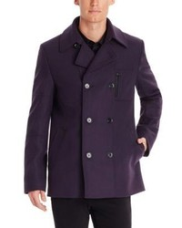 Hugo Boss Berus Virgin Wool Blend Pea Coat
