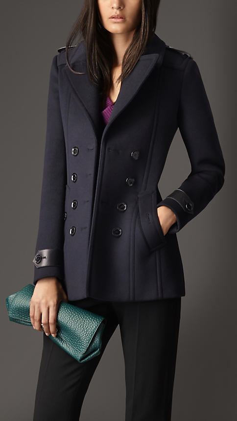 Burberry Tailored Wool Cashmere Pea Coat | Where to buy & how to wear