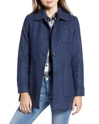 Pendleton Casper Mel Wool Blend Barn Coat