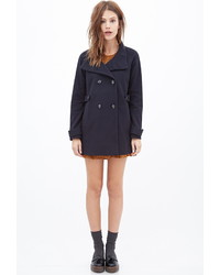 Forever 21 Cowl Neck Pea Coat