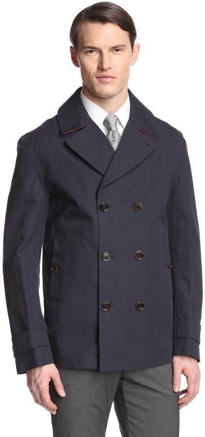 Crombie Spring Weight Peacoat | Where to buy & how to wear