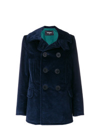 Dsquared2 Double Breasted Corduroy Jacket