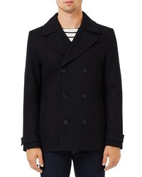 Double breasted peacoat medium 1150269