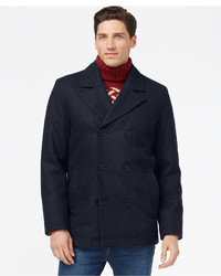 Men s Navy Pea Coats by Tommy Hilfiger   Men s Fashion 95de84870f30