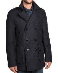 Barbour Duckpole Double Breasted Peacoat