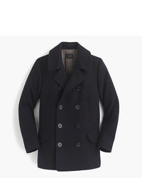 J.Crew Tall Dock Peacoat With Thinsulate