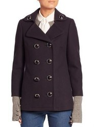 Michael Kors Michl Kors Collection Wool Peacoat