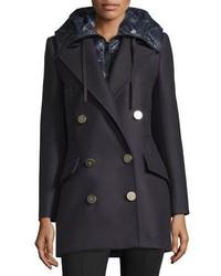Navy Pea Coats for Women | Women&39s Fashion