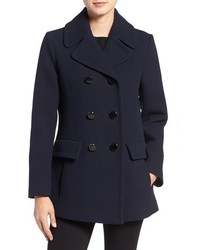 Kate Spade New York Wool Blend Peacoat