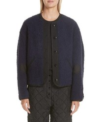 Proenza Schouler Pswl Fleece Shirt Coat