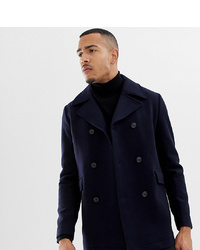 Selected Homme Recycled Wool Peacoat