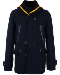 Sacai Fur Collar Peacoat