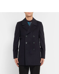 Paul Smith Slim Fit Wool And Cashmere Blend Peacoat | Where to buy ...