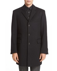 John Varvatos Star Usa Trim Fit Wool Cashmere Peacoat