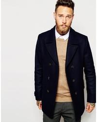 Ted Baker Wool Rich Pea Coat