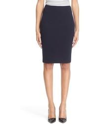 Armani Collezioni Crepe Jersey Pencil Skirt