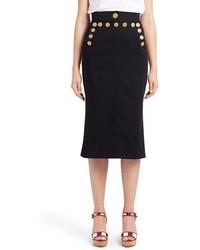 Dolce & Gabbana Dolcegabbana Sailor Pencil Skirt