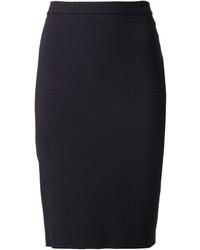 Lanvin Back Zip Pencil Skirt