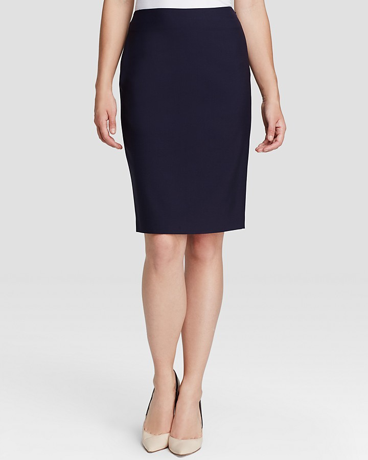 Elie Tahari Penelope Stretch Wool Pencil Skirt | Where to buy ...