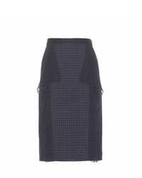 3.1 Phillip Lim Perforated Cotton Pencil Skirt