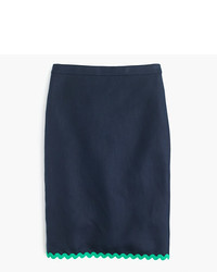bf5880168f97 Women's Navy Pencil Skirts by J.Crew | Women's Fashion | Lookastic.com