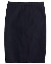 Tall pencil skirt in stretch cotton medium 366228