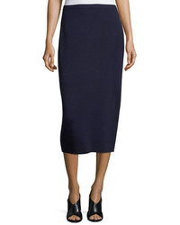 Eileen Fisher Washable Silkcotton Midi Pencil Skirt Petite