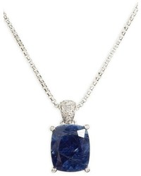 Classic chain diamond pendant necklace medium 834716