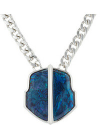 Vince Camuto Oceanography Blue Pendant Necklace
