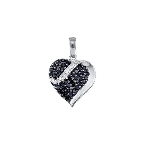 Sea of diamonds 071ct blue diamond heart pendant where to buy sea of diamonds 071ct blue diamond heart pendant mozeypictures Image collections