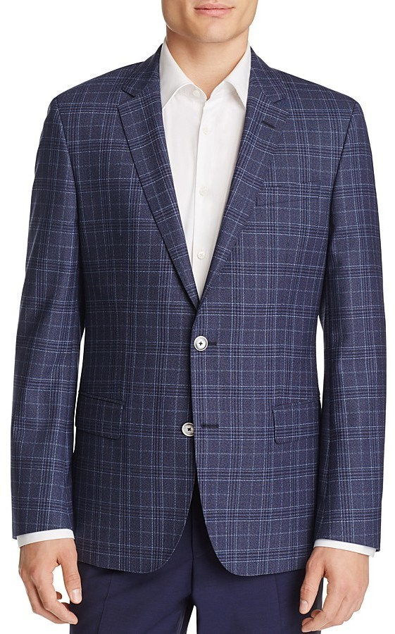 9f05f05cc7e Hugo Boss Boss Hutsons Plaid Slim Fit Sport Coat, $595 ...