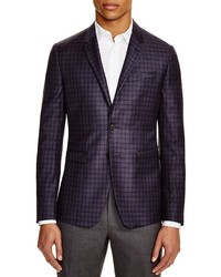 Paul Smith Box Plaid Slim Fit Sport Coat