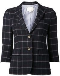 Boy By Band Of Outsiders Boy By Band Of Outsiders Windowpane Check Blazer