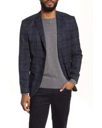 Selected Homme My Logan Slim Fit Plaid Sport Coat