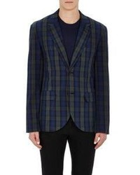 Marc by Marc Jacobs Plaid Stanley Sportcoat Blue Size S
