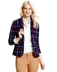 Tommy Hilfiger Windowpane Check Blazer
