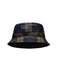 Moncler Genius 7 Moncler Frgmt Hiroshi Fujiwara Plaid Reversible Bucket Hat