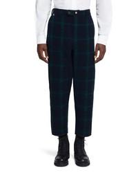 Woolrich Big Game Black Watch Tartan Wool Pants